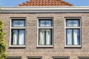 Select Windows kunststof kozijnen - Kunststof jaren 30 kozijn met glas-in-lood