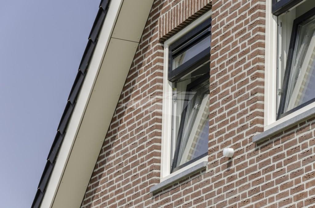 Kunststof raam met triple glas