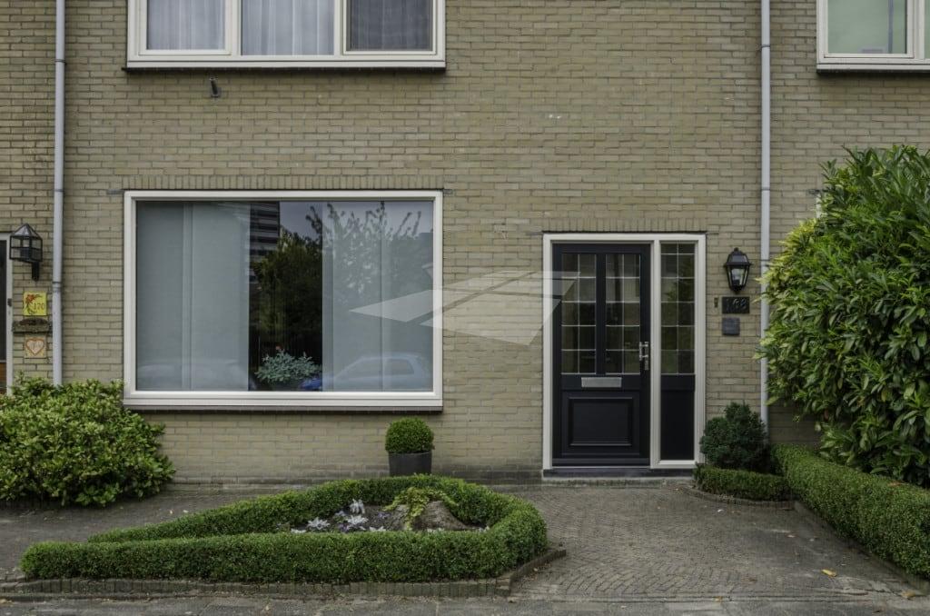 Kunststof voordeur met glas-in-lood
