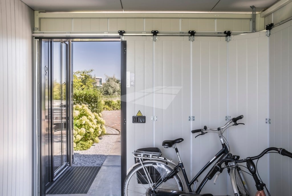 Hörmann zijdelingse garagedeur elektrisch
