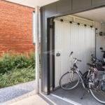 Zijdelingse garagedeur van Hörmann