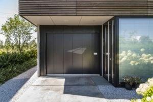 Hörmann garagedeur antraciet metallic