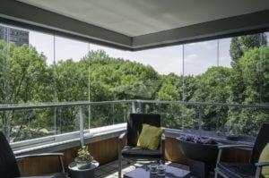 Volglas balkonsysteem