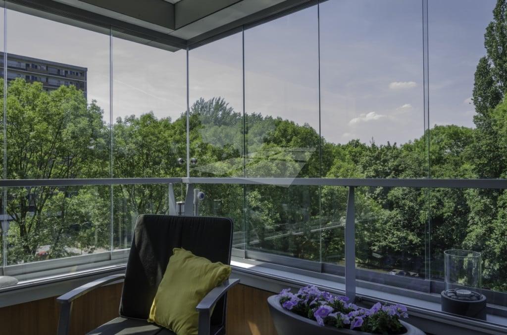 Balkonbeglazing schuifststeem