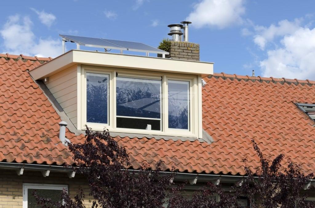 Kunststof dakkapel voorzijde