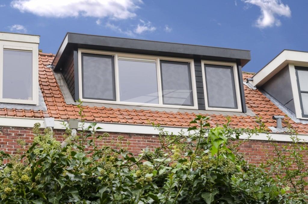 Kunststof dakkapel met hoge isolatiewaarde