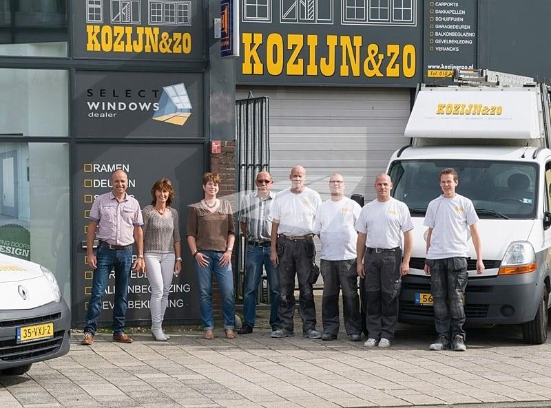 Team Kozijn & Zo - kunststof kozijnen Hoogvliet en rijnmond