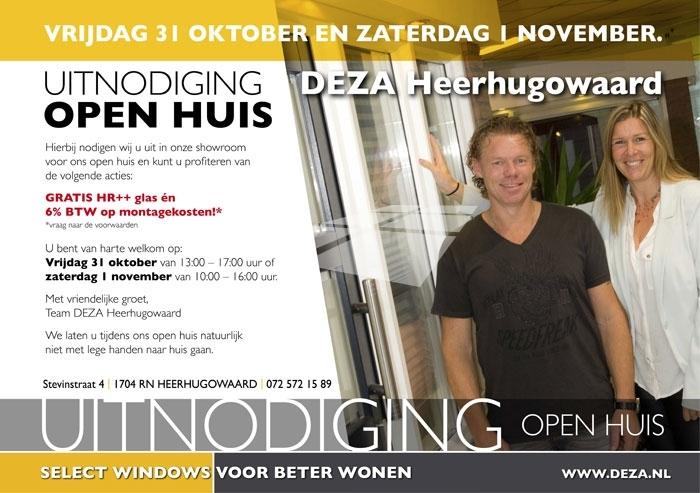 Select Windows Kunststof kozijnen - Deza Kzoijnen Heerhugowaard zorgt dat u er warmpjes bijzit