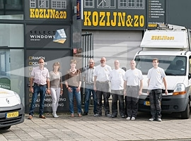 Select Windows Kunststof kozijnen - heropening showroom Kozijn & Zo in Hoogvliet