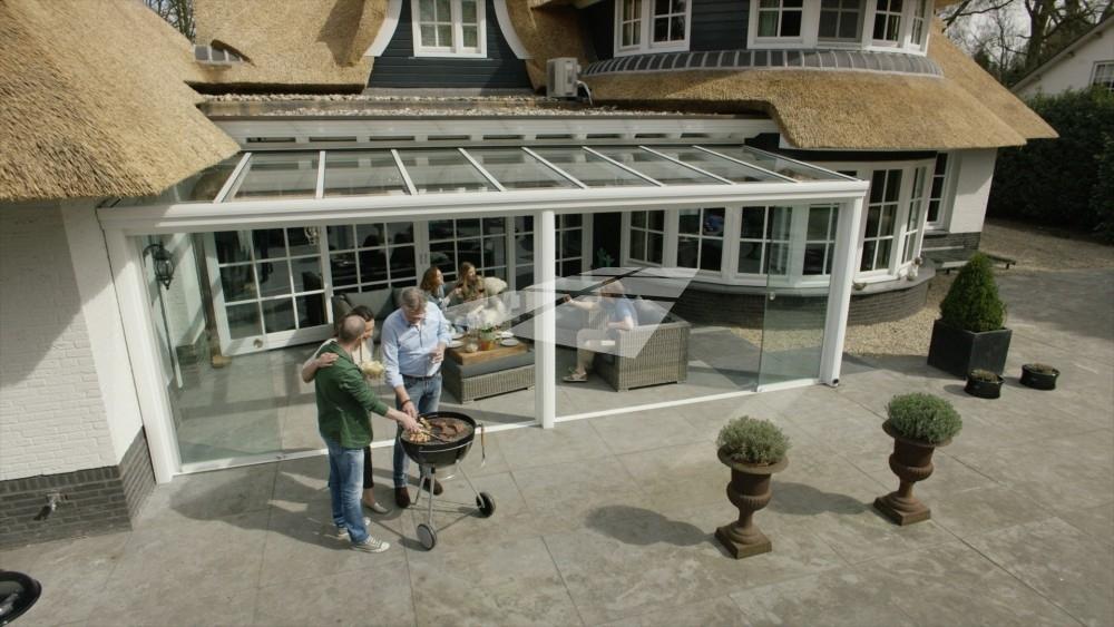 Select Windows kunststof kozijnen - Pallazzo veranda terrasoverkapping