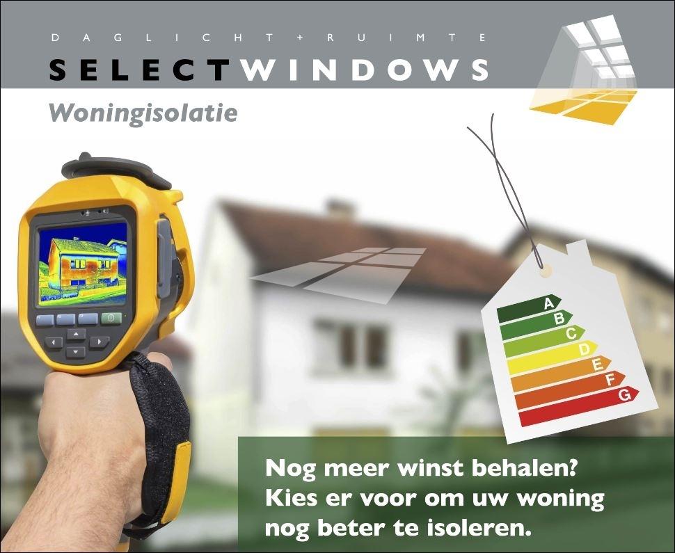 Select Windows kunststof kozijnen - energiebespaarlening