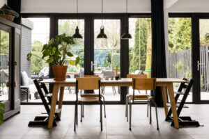 Select Windows Kunststof Kozijnen - Openslaande kunststof tuindeuren in een vtwonen metamorfose verbouwen of verhuizen