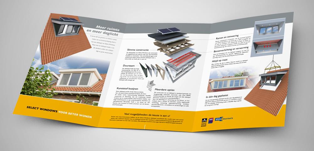 Select Windows Kozijnen - Wilt u onze dakkapellen brochure aanvragen?