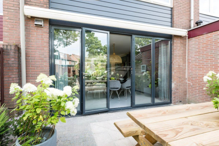 Select Windows - vouwwand of harmonicadeuren aluminium in vtwonen metamorfose verbouwen of verhuizen