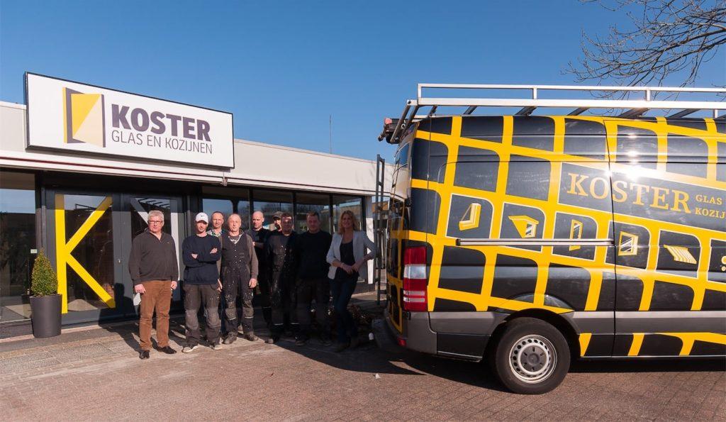 Select Windows Partner Kunststof kozijnen Groningen koopt u bij Koster Glas & Kozijnen