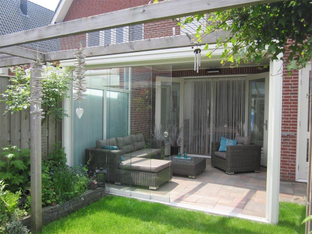 Select Windows - terrasoverkapping met glazen schuifwand veranda