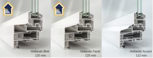 Select Windows Kunststof kozijnen - meer keuze in uitstraling en betere isolatiewaarde - Blok-Facet-Accent Isolerende kozijnen