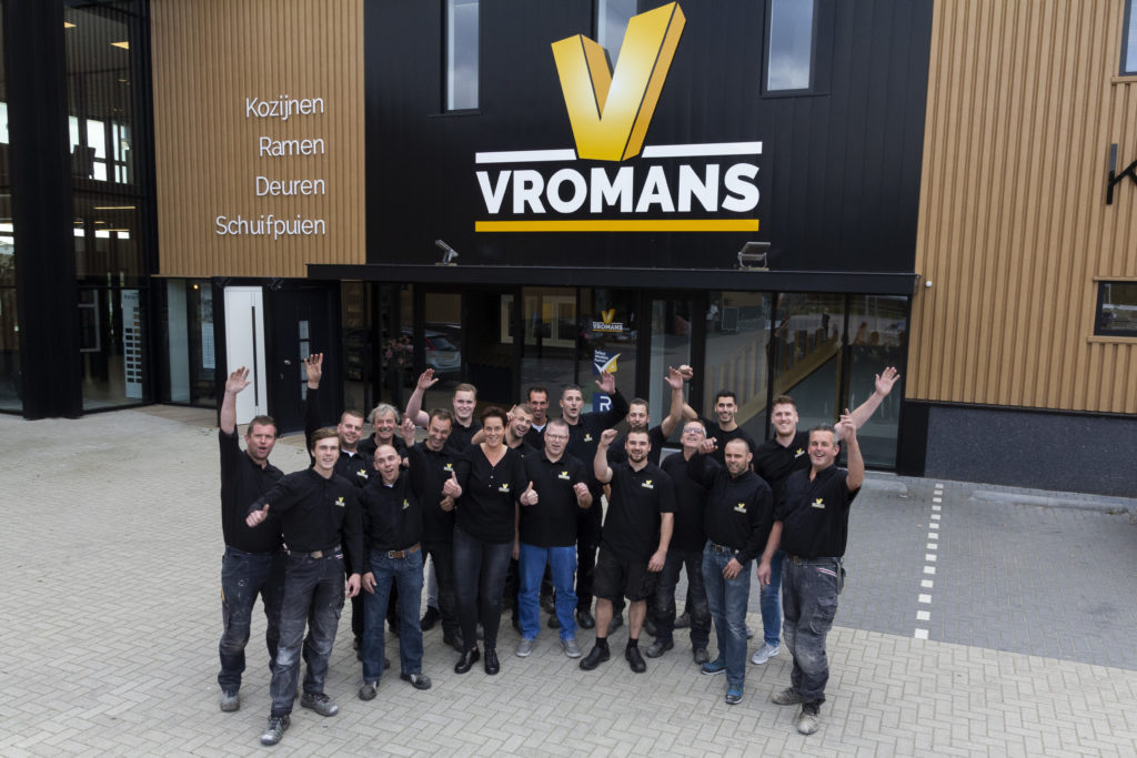 Select Windows partner - Team Vromans 2018 - Kunststof kozijnen Goirle