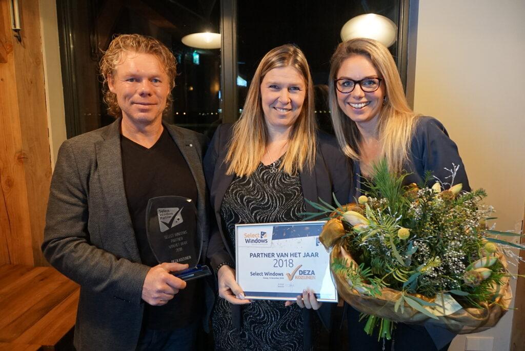 Deza Kozijnen Heerhugowaard - Select Windows Partner van het jaar 2018
