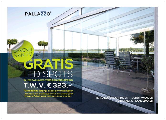 Select Windows Kunststof kozijnen - voorjaarsactie Pallazzo veranda terrasoverkapping