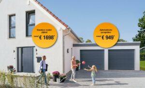 Select Windows Kunststof Kozijnen - Actie garagedeur en voordeur 2019 met actieprijs