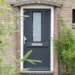 Select Windows Kunststof kozijnen - kunststof voordeur vtwonen - Kunststof voordeur antraciet Alkmaar