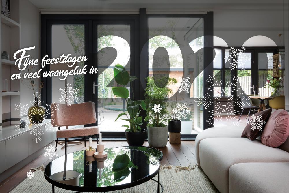 Select Windows Kunststof Kozijnen - Prettige feestdagen 2019 - woongeluk 2020 Slider
