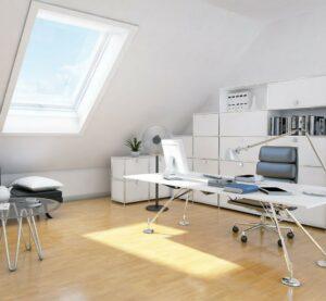Select Windows kunststof kozijnen - goede thuiswerkplek dakkapel of dakraam