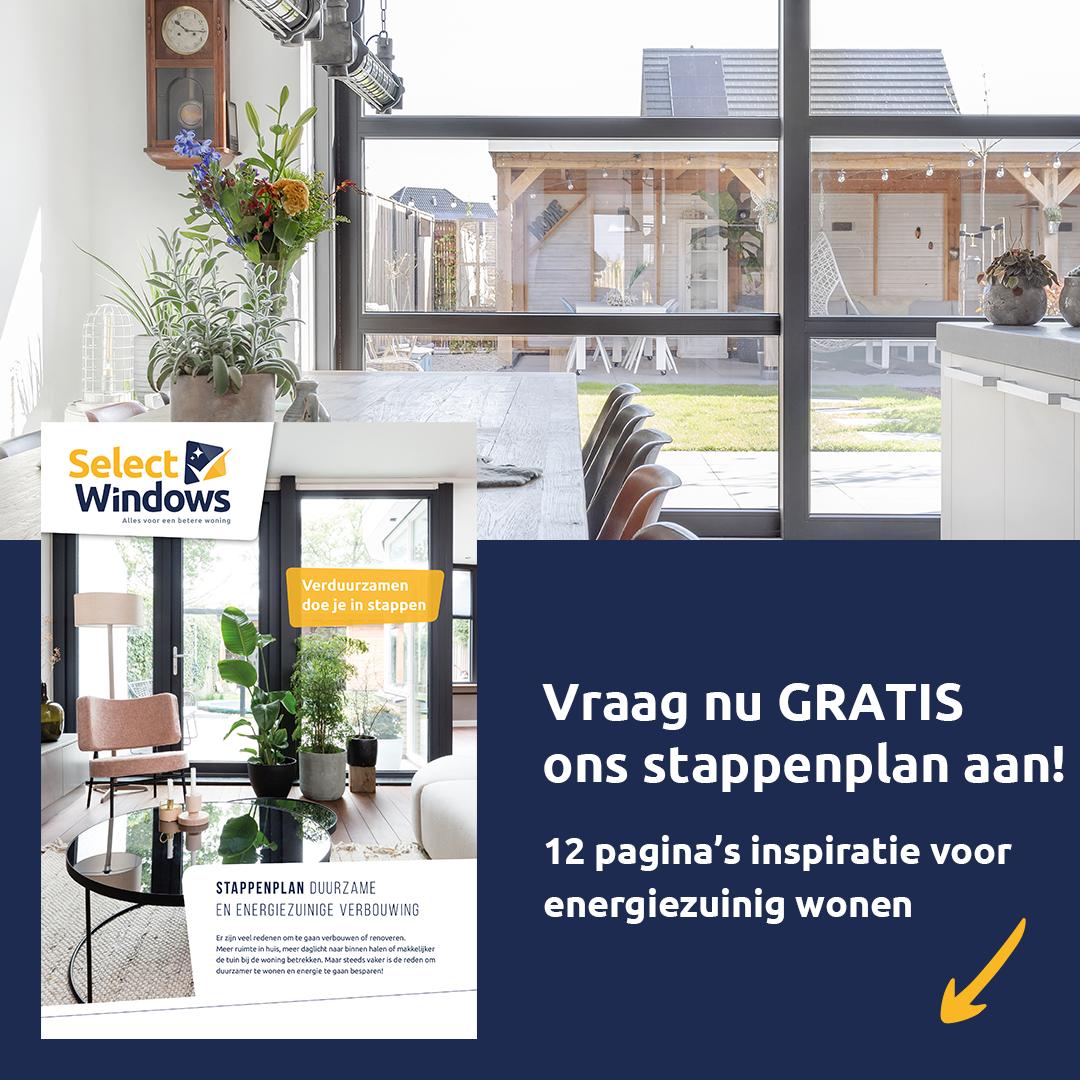 Select Windows Kunststof kozijnen - Stappenplan Duurzaam Verbouwen Energiezuinig Wonen