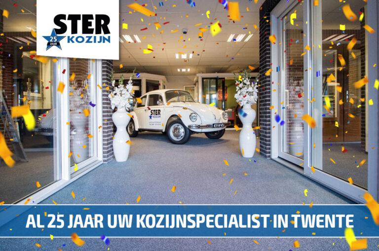Select Windows Kunststof Kozijnen - Ster Kozijn bestaat 25 jaar