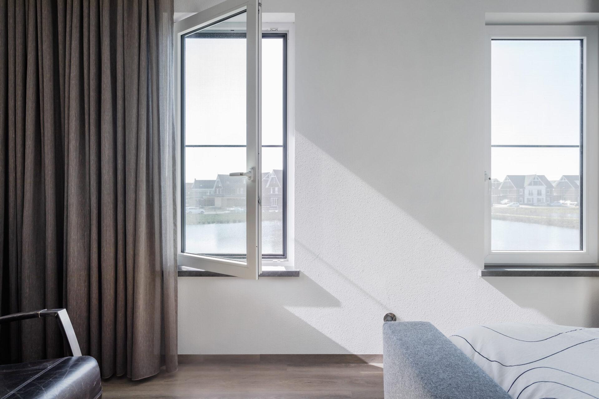 Select Windows Kunststof Kozijnen - referentie - kunststof kozijnen in Druten - badkamer kunststof raam