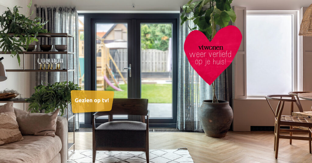 Select Windows Kozijnen - vtwonen weer verliefd op je huis - Weer verliefd op openslaande tuindeuren met zonwerend glas - weer verliefd op je huis in Geldermalsen