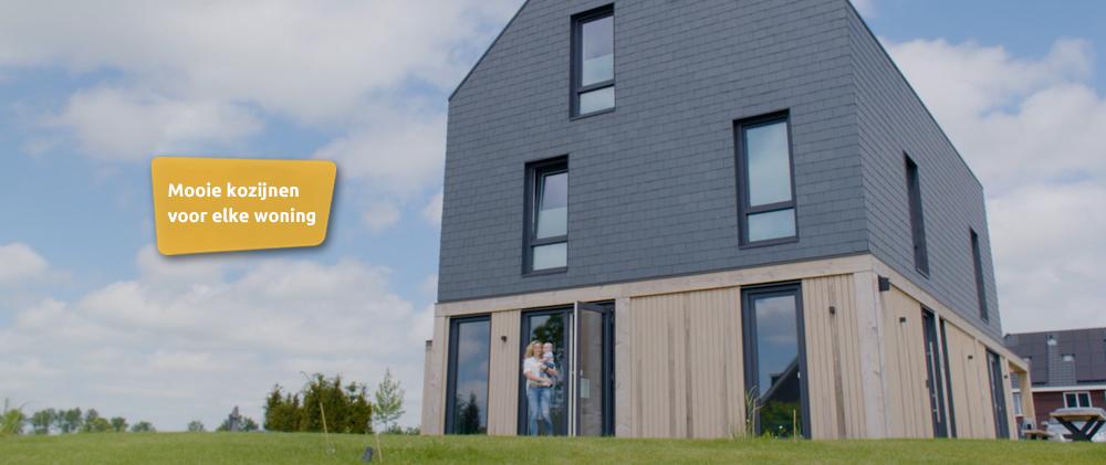 Slider - Selct Windows Kozijnen - Najaarscampagne 2021-Energie Kozijnen in nieuwbouwwoning Noord Holland