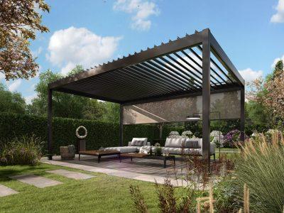 Select Windows Kunststof kozijnen - Pallazzo Lameldak voor een ibizagevoel in eigen tuin - Investeer uw vakantiegeld in eigen huis en tuin