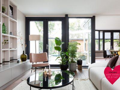 Select Windows Kunststof kozijnen - tuindeuren met verwarmd glas bij vtwonen weer verliefd op je huis
