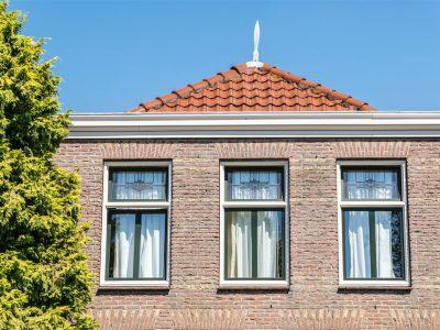 Select Windows Kunststof kozijnen - kunststof ramen met glas-in-lood tussen isolatieglas - Referentie kunststof kozijnen Hillegom