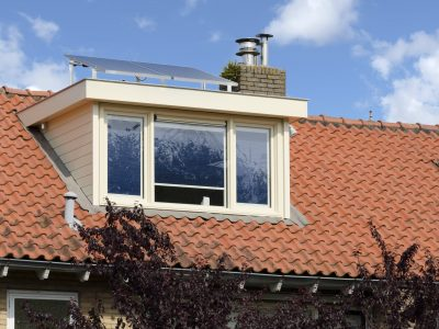 Select Windows kunststof kozijnen - Kunststof dakkapel voorzijde