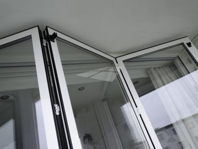 Select Windows kunststof kozijnen - Vouwwand aluminium wit