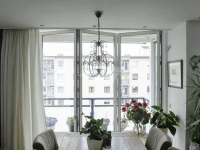 Select Windows kunststof kozijnen - Aluminium vouwwand
