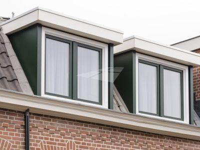 Select Windows kunststof kozijnen - Kunststof dakkapel met stolpramen