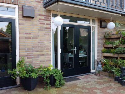 Select Windows Kunststof kozijnen - kunststof tuindeuren openslaande deuren met zij en bovenlichten