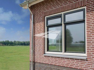 Select Windows kunststof kozijnen - Kunststof ramen met Hollandse hoek