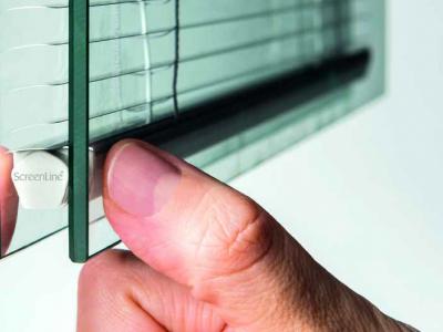 Select Windows Kozijnen - screenline - zonwerende raamdecoratie tussen isolatieglas