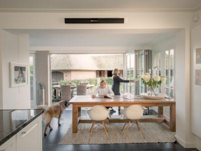 Select Windows - vouwwand of harmonicadeuren aluminium vouwwanden Solarlux - vrijstaande woning Apeldoorn