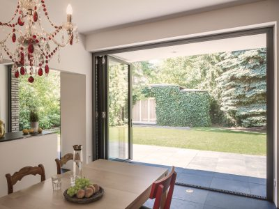 Select Windows - vouwwand of harmonicadeuren aluminium vouwwanden Solarlux
